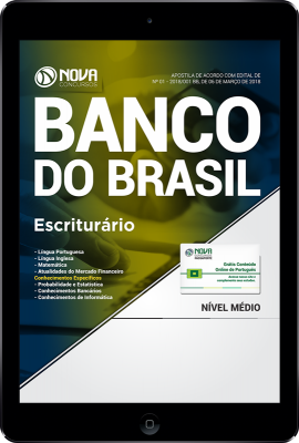 Download Apostila Banco do Brasil PDF - Escriturário