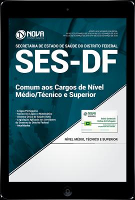 Download Apostila SES-DF PDF - Comum aos Cargos de Nível Médio/Técnico e Superior
