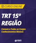 Curso Online TRT 15ª Região Campinas - Comum a Todos os Cargos