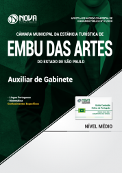 Apostila Câmara de Embu das Artes - SP - Auxiliar de Gabinete