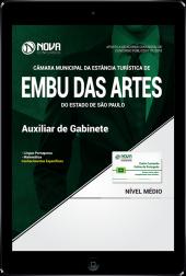 Download Apostila Câmara de Embu das Artes - SP PDF - Auxiliar de Gabinete