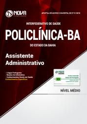 Apostila POLICLÍNICA-BA - Assistente Administrativo