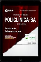 Download Apostila POLICLÍNICA-BA PDF - Assistente Administrativo