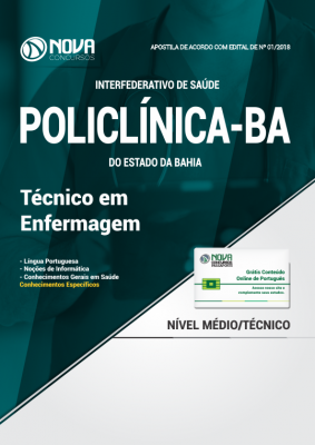 Apostila POLICLÍNICA-BA - Técnico em Enfermagem
