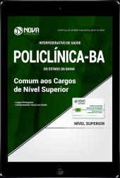 Download Apostila POLICLÍNICA-BA PDF - Comum aos Cargos de Nível Superior
