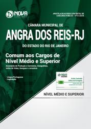 Apostila Câmara de Angra dos Reis - RJ - Comum aos Cargos de Nível Médio e Superior