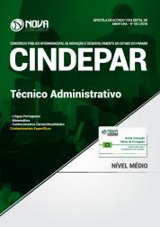 Apostila CINDEPAR - Técnico Administrativo