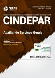Apostila CINDEPAR - Auxiliar de Serviços Gerais