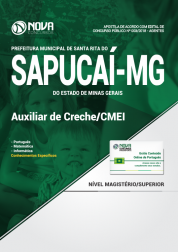 Apostila Prefeitura de Santa Rita do Sapucaí - MG - Auxiliar de Creche/CMEI