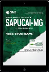 Download Apostila Prefeitura de Santa Rita do Sapucaí - MG - Auxiliar de Creche/CMEI (PDF)