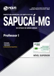Apostila Prefeitura de Santa Rita do Sapucaí - MG - Professor I