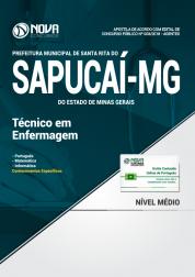 Apostila Prefeitura de Santa Rita do Sapucaí - MG - Técnico em Enfermagem