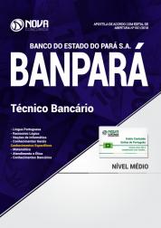 Apostila BANPARÁ - Técnico Bancário