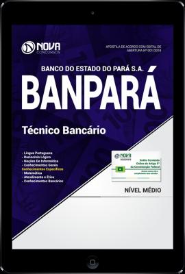 Download Apostila BANPARÁ - Técnico Bancário (PDF)