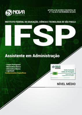 Apostila IFSP - Assistente em Administração