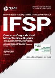 Apostila IFSP - Comum as Cargos de Nível Médio/Técnico e Superior