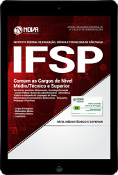 Download Apostila IFSP - Comum as Cargos de Nível Médio/Técnico e Superior (PDF)