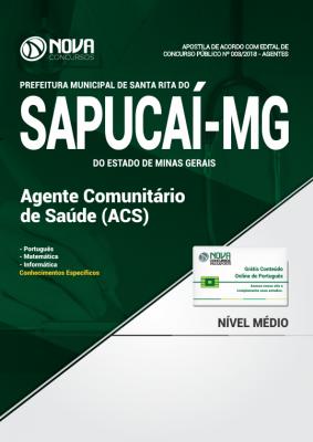 Apostila Prefeitura de Santa Rita do Sapucaí - MG - Agente Comunitário de Saúde-ACS