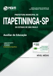 Apostila Prefeitura de Itapetininga - SP - Auxiliar de Educação