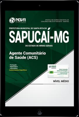 Download Apostila Prefeitura de Santa Rita do Sapucaí - MG - Agente Comunitário de Saúde-ACS (PDF)