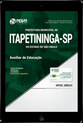Download Apostila Prefeitura de Itapetininga - SP - Auxiliar de Educação (PDF)