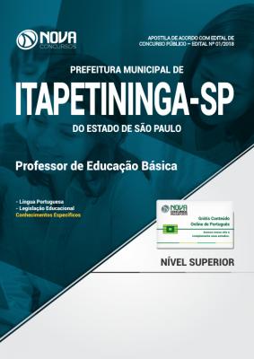 Apostila Prefeitura de Itapetininga - SP - Professor de Educação Básica