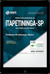 Download Apostila Prefeitura de Itapetininga - SP - Professor de Educação Básica (PDF)