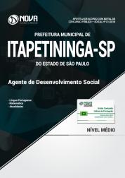 Apostila Prefeitura de Itapetininga - SP -  Agente de Desenvolvimento Social