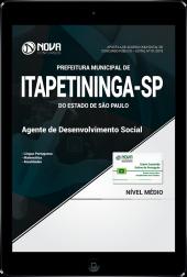Download Apostila Prefeitura de Itapetininga - SP -  Agente de Desenvolvimento Social (PDF)