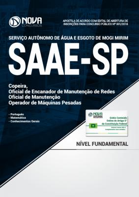 Apostila SAAE Mogi Mirim - SP - Nível Fundamental