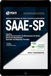 Download Apostila SAAE Mogi Mirim - SP - Nível Fundamental (PDF)