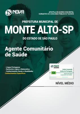 Apostila Prefeitura de Monte Alto - SP - Agente Comunitário de Saúde
