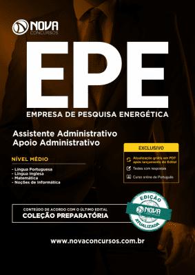 Download Apostila EPE - Assistente Administrativo - Apoio Administrativo (PDF)