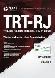 Apostila TRT-RJ (1ª Região) - Técnico Judiciário - Área Administrativa