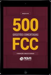 Download Livro FCC - 500 Questões Comentadas e Gabaritadas (PDF)