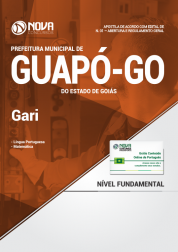 Apostila Prefeitura de Guapó - GO - Gari