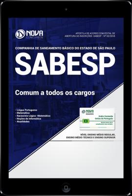 Download Apostila SABESP - Estágio Curricular (Comum a Todos os Cargos) (PDF)