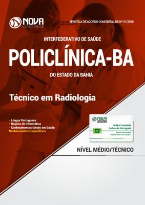 Apostila POLICLÍNICA-BA - Técnico em Radiologia