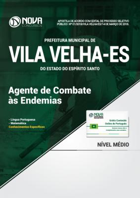 Apostila Prefeitura de Vila Velha - ES - Agente de Combate às Endemias