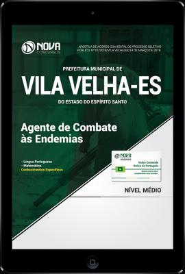 Download Apostila Prefeitura de Vila Velha - ES - Agente de Combate às Endemias (PDF)