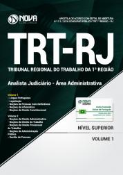 Apostila TRT-RJ (1ª Região) - Analista Judiciário - Área Administrativa