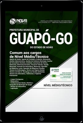 Download Apostila Prefeitura de Guapó - GO - Comum aos Cargos de Nível Médio/Técnico (PDF)