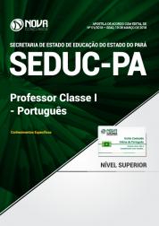 Apostila SEDUC-PA - Professor Classe I - Português