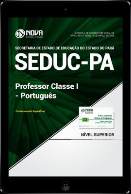 Download Apostila SEDUC-PA - Professor Classe I - Português (PDF)
