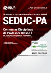 Apostila SEDUC-PA - Comum as Disciplinas de Professor Classe I