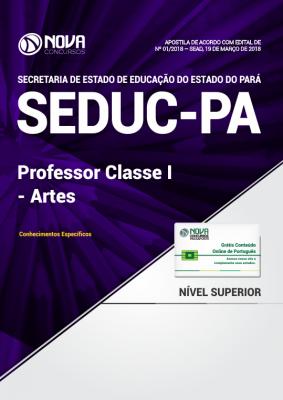 Apostila SEDUC-PA - Professor Classe I - Artes