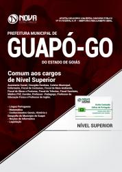 Apostila Prefeitura de Guapó - GO - Comum aos Cargos de Nível Superior