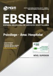 Apostila EBSERH - Psicólogo - Área: Hospitalar
