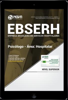Download Apostila EBSERH - Psicólogo - Área: Hospitalar (PDF)