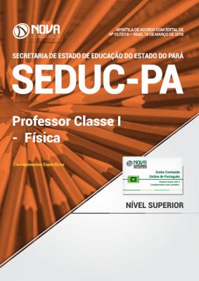 Apostila SEDUC-PA - Professor Classe I - Física